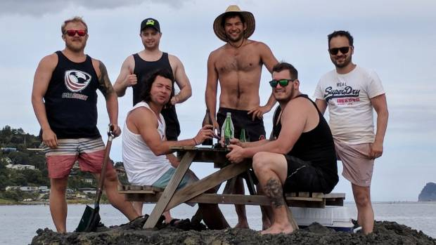 Meet the crew who built New Zealand's booze ban island