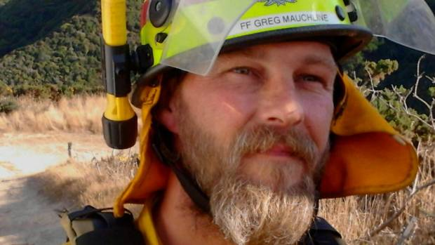 Greg Mauchline, a senior Fire and Emergency NZ volunteer firefighter, died aged only 43 two days after Christmas Day.