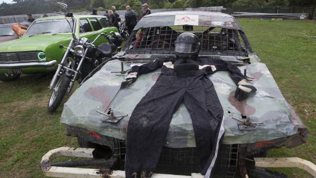 """Mourners paid tribute to the Holden enthusiast known as """"Rebel""""."""