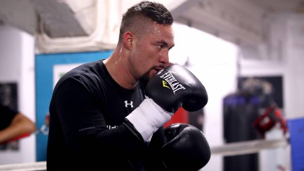 Anthony Joshua hits back at David Higgins' 'glass chin' claims
