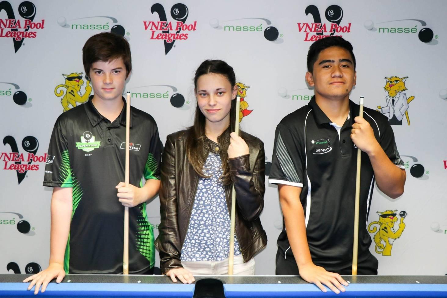 Taranaki teenagers heading to junior pool championships