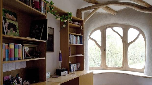Curved Branches Were Used As Roof Supports