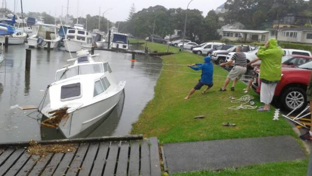 Flooding Closes Roads Inundates Homes In Auckland Stuff