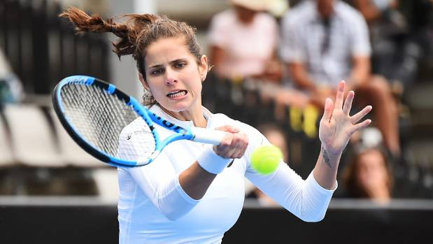 Julia Goerges was too good for Su Wei Hsieh in the semifinals