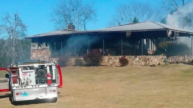 Roy Moore accuser Tina Johnson's home gutted in fire, arson investigation underway