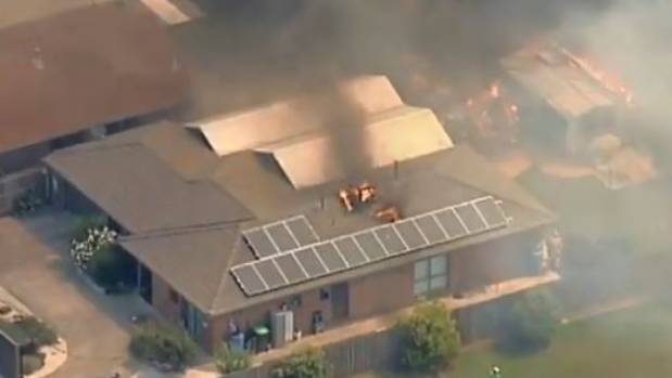 Girl charged with intentionally starting fire after Melbourne blaze damaged home