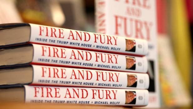 Michael Wolff's controversial tell-all book 'Fire and Fury' has been flying off shelves around the world.