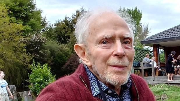 Christchurch botanist Bill Sykes at his 90th birthday celebration in October, 2017. Sykes died on January 5, 2018.
