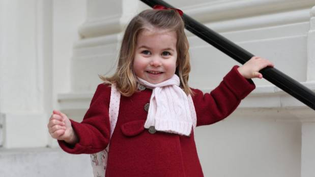 Princess Charlotte Is a Very Polite Two-Year-Old