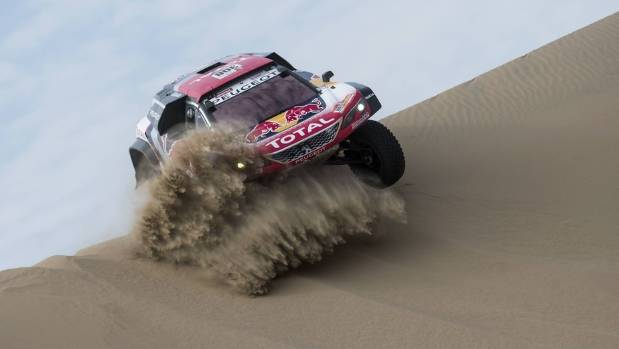Peterhansel stays top after eventful Dakar fourth stage
