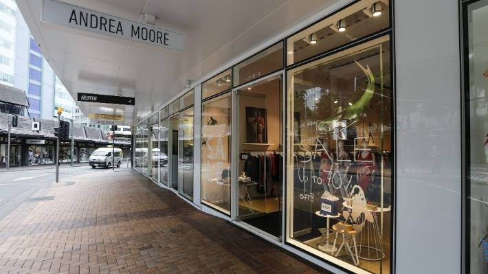Andrea Moore Fashion Label In Liquidation Expansion Road Works Cause Perfect Storm Stuff Co Nz