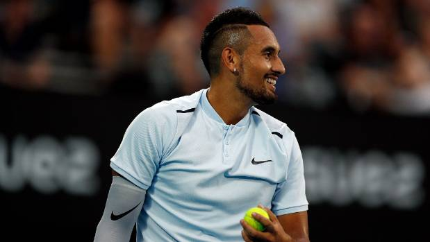 Brilliant Kyrgios too good for Dimitrov