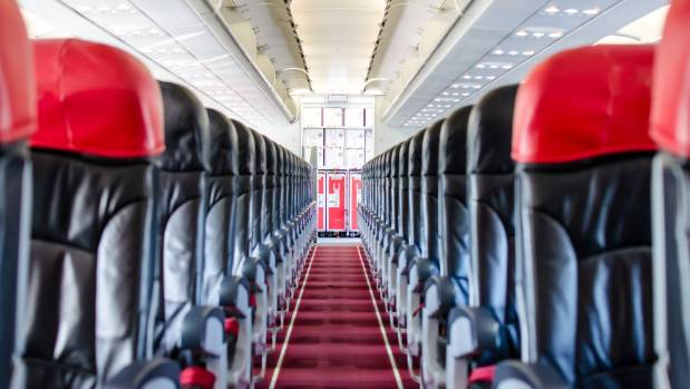 A woman got an entire plane to herself after a booking mix-up (file photo).