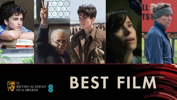 Shape of Water leads BAFTA nominations