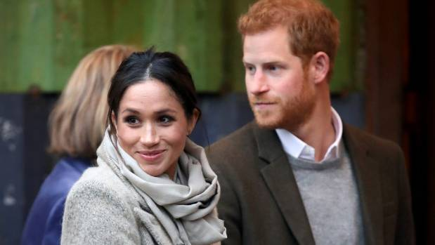 LONDON ENGLAND- JANUARY 09 Prince Harry and his fiancee Meghan Markle visit Reprezent 107.3FM