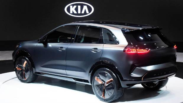 Kia Niro EV leads firm's electric auto  charge