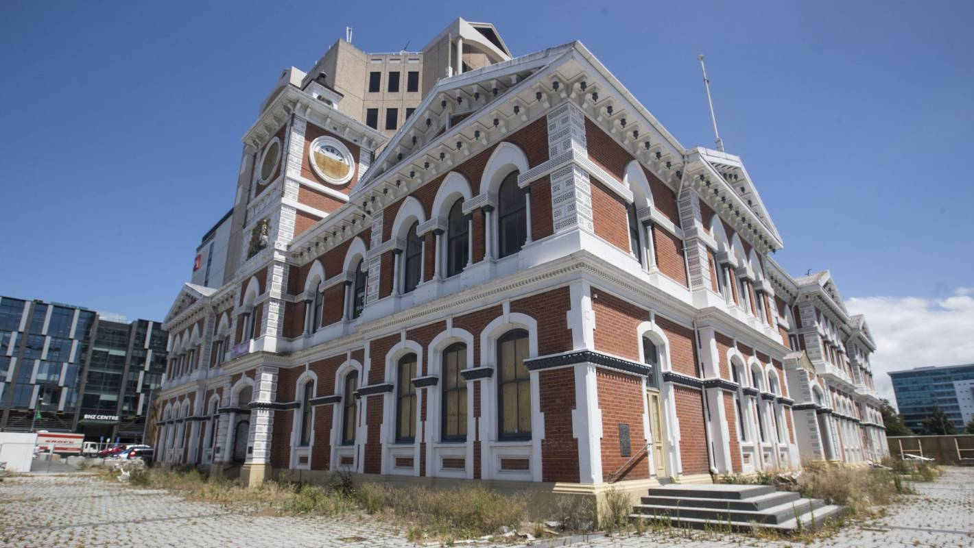 Repairs Confirmed For Historic Former Post Office Building