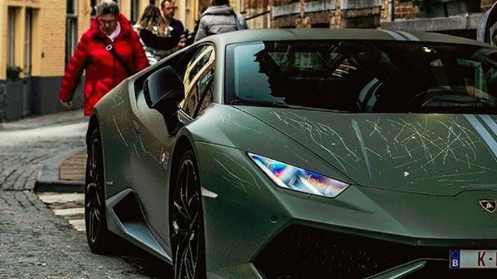 Supercar Collector S Rare Lamborghini Huracan Avio Keyed By Jealous