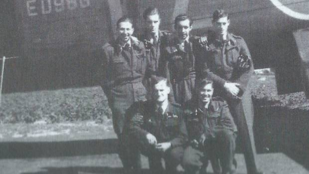 Lawrence Porritt was one of the men photographed who died in Beemster, Holland on June 26 1943 after their Lancaster ...