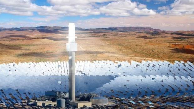 SolarReserve granted approval for 150 MW solar thermal project