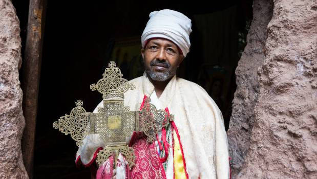 A priest in Lalibela.