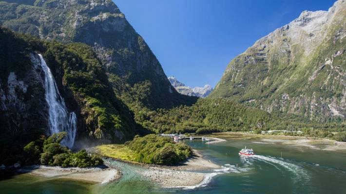 milford sound has busiest month as more than 105 000 board cruises