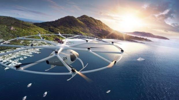 The vehicle's manufacturer hopes it will eventually be able to fly for one hour without needing to charge.