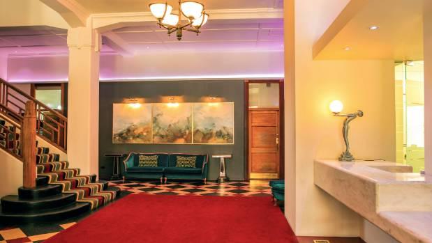 Art deco masonic hotel napier a right royal destination for Deco hotel napier