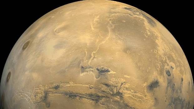 The long-sought discovery the largest detection of liquid water on the Red Planet yet raises the tantalising