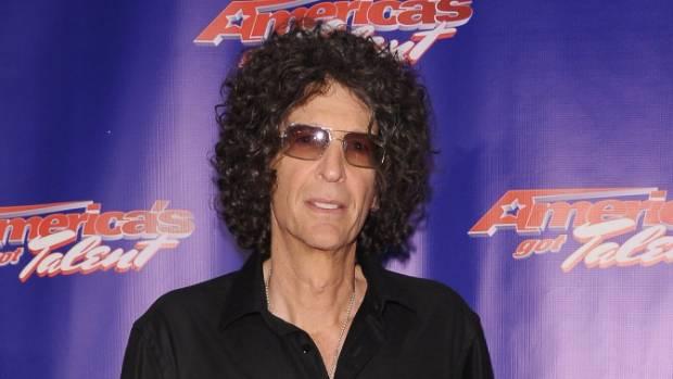 US radio personality Howard Stern