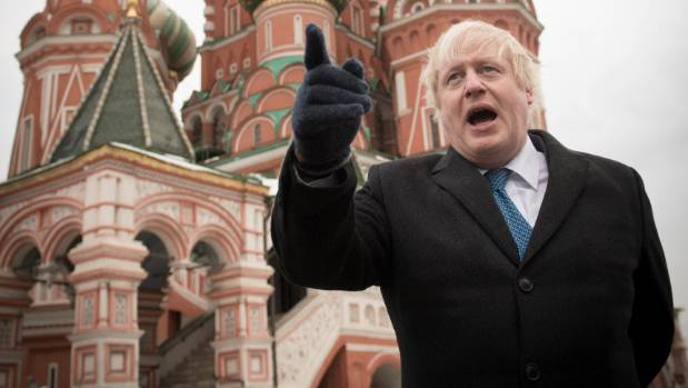 British Foreign Secretary Boris Johnson is furious after US President Donald Trump cancelled his trip to London.