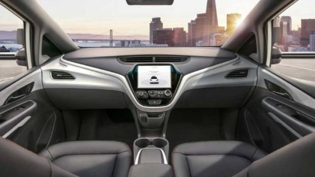 GM releases image of Cruise AV self-driving vehicle