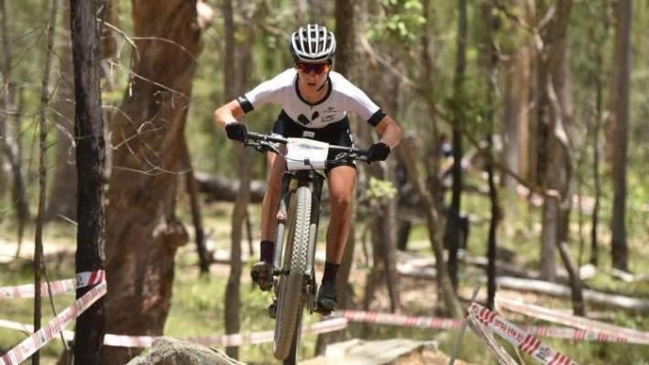 kiwis star on commonwealth games mountain bike course stuff co nz