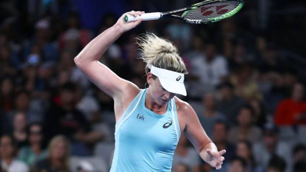 Vandeweghe has 'banana drama' at Australian Open