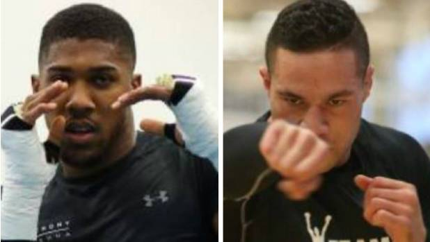 Anthony Joshua and Joseph Parker will fight on March 31 in Wales