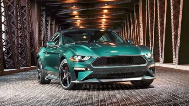 Molly McQueen Drives Up in 2019 Ford Mustang Bullitt