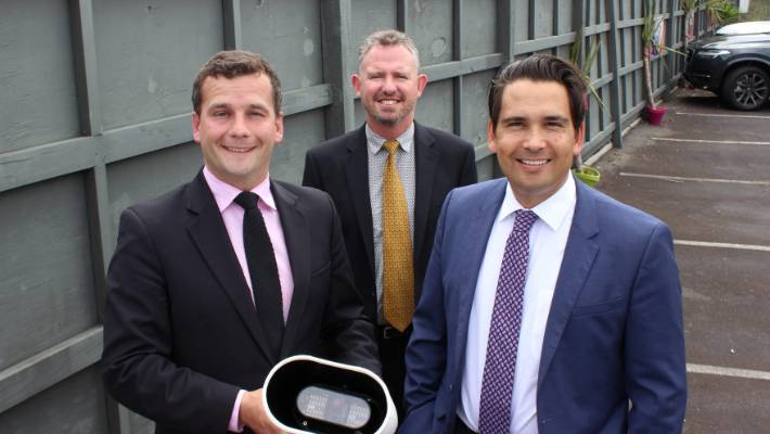 Auckland noise braking cameras reduce sound from truck engine