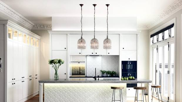 An example of kitchen lighting done right this room was the supreme winner and kitchen jane ussher nz house garden