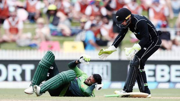 Pakistan score 262 against New Zealand