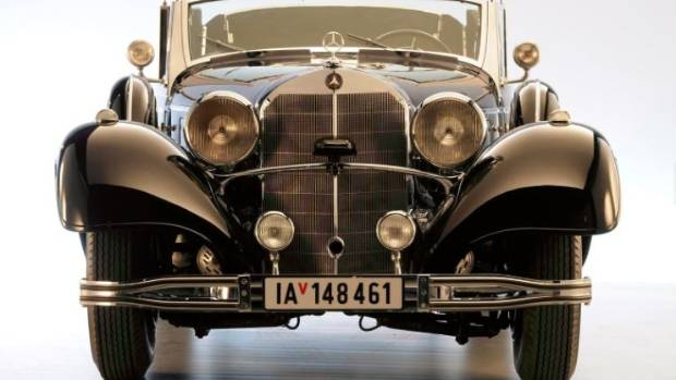 Auto once used to shuttle Adolf Hitler being sold at auction