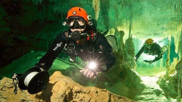Biggest flooded cave on the planet found in Mexico