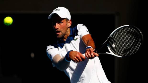 Djokovic battles past hot weather & Monfils; Muguruza & Wawrinka tumble out
