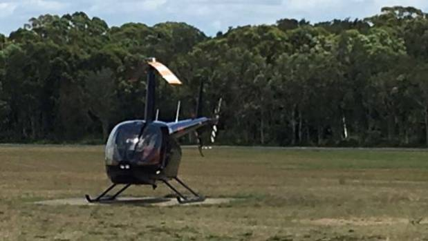 Dad hires chopper to find missing NSW son