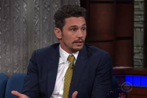 "In an interview with Stephen Colbert, James Franco described the sexual misconduct allegations made against him as ""not ..."