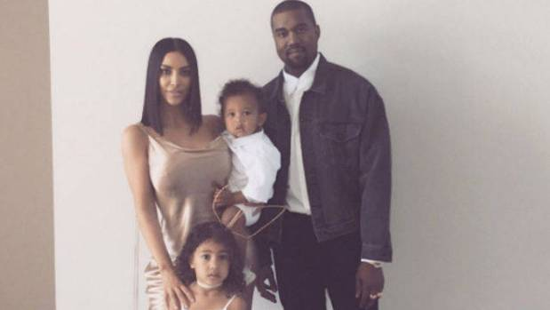 Kim Kardashian & Kanye West Announce Baby No. 3's Name -- Chicago West