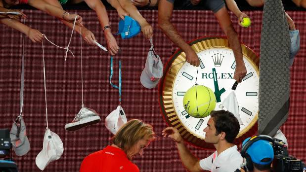 Temperatures rise, seeds fall at Australian Open