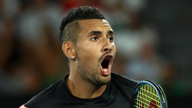 Australian Open: Nick Kyrgios topples idol Jo-Wilfried Tsonga in electric clash