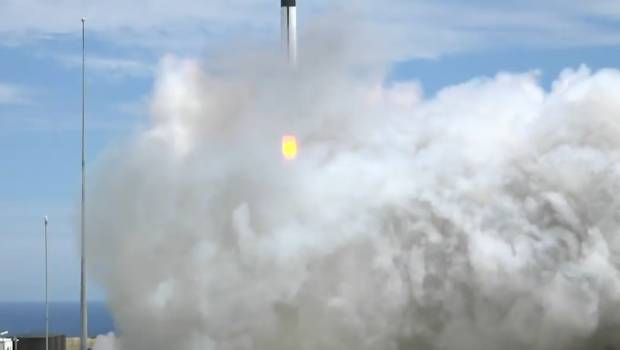 Lift off! New Zealand's Rocket Lab launches first rocket