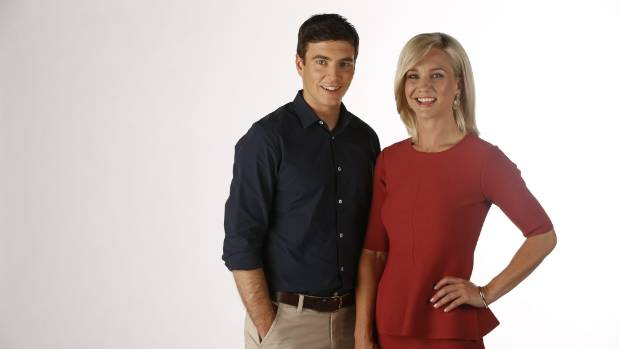 Hayley Holt joined TVNZ Breakfast co-host Jack Tame for the first time on  Monday