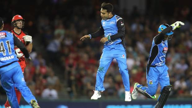 Adelaide Strikers duo produce stunning catch